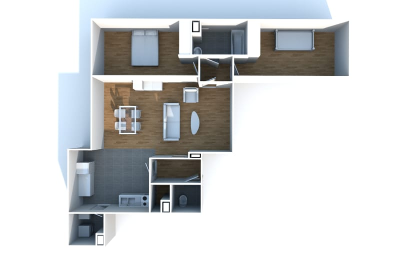 Appartement 3 pièces à louer à Rouen Rive Gauche - Image 5