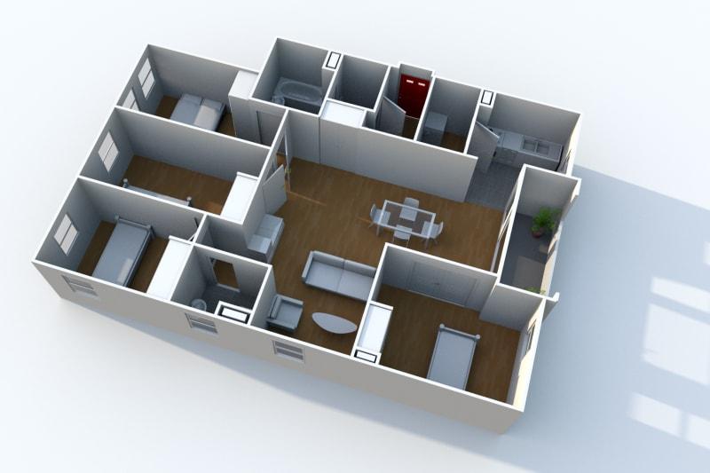 Appartement F5 en location à Rouen Rive Gauche - Image 3