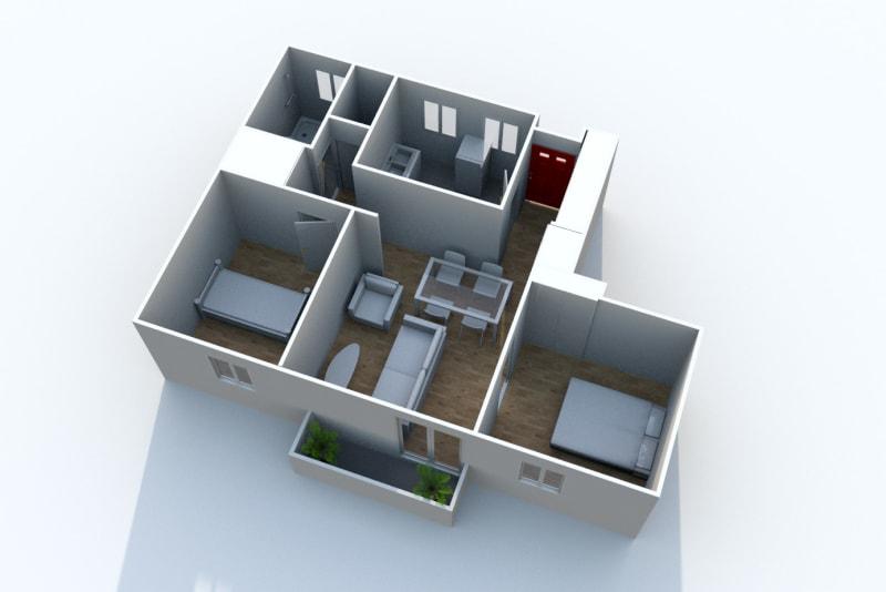 Appartement T3 en location à Eu, ville pleine de charme - Image 5