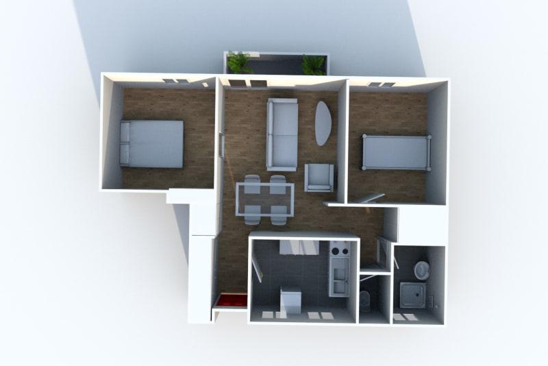 Appartement T3 en location à Eu, ville pleine de charme - Image 6