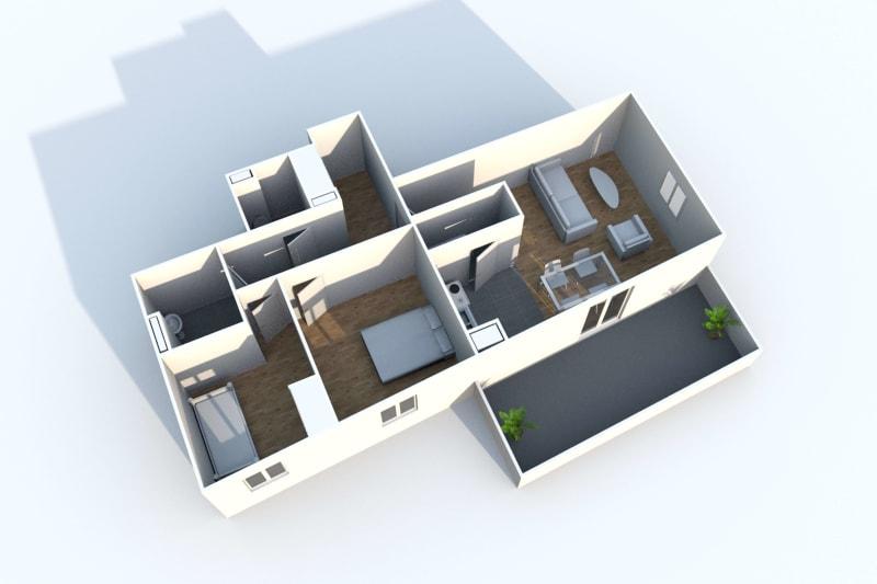 Appartement de 3 pièces en location à Rouen Rive Gauche - Image 3