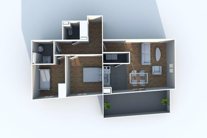 Appartement de 3 pièces en location à Rouen Rive Gauche - Image 4