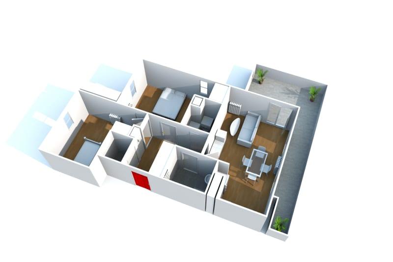 Appartement F3 à louer à Isneauville, proche des Halles - Image 4