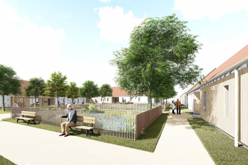 Pavillon neuf pour séniors T2 en location à Sassetot le Mauconduit - Image 2