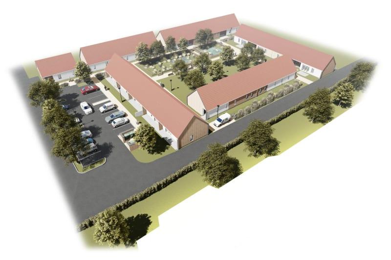 Pavillon neuf pour séniors T2 en location à Sassetot le Mauconduit - Image 3