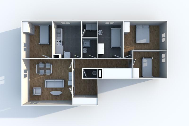 Appartement T5 en location à Auffay, proche du centre-ville - Image 5