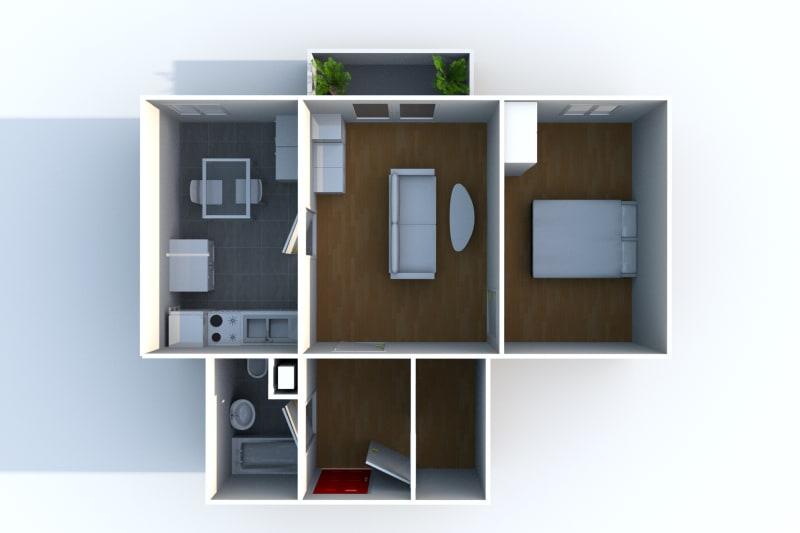 Appartement T2 en location à Auffay, proche du centre-ville - Image 4
