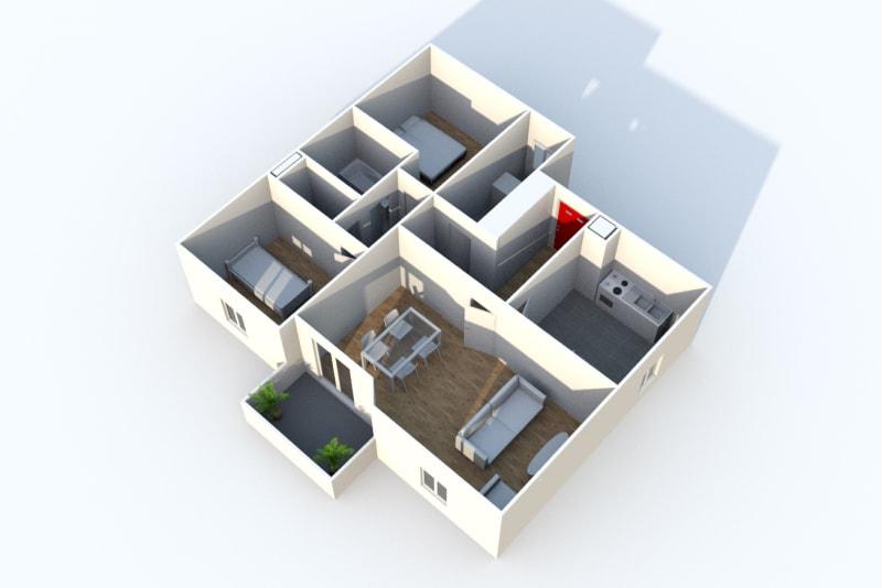 Appartement T3 en location dans un quartier résidentiel à Blangy-Sur-Bresle - Image 3
