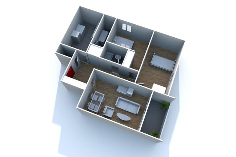Appartement F3 à louer à Bolbec, dans une résidence réhabilitée - Image 9