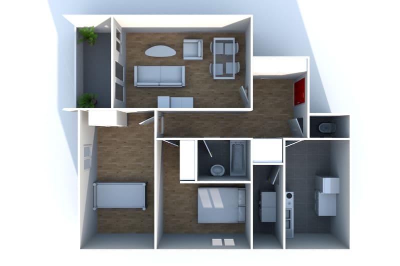 Appartement F3 à louer à Bolbec, dans une résidence réhabilitée - Image 10