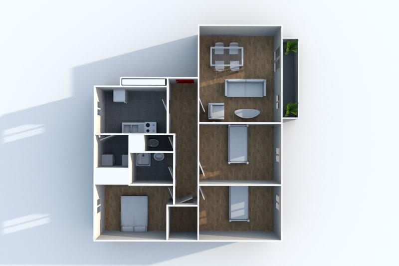 Appartement F4 à louer à Cany-Barville - Image 5