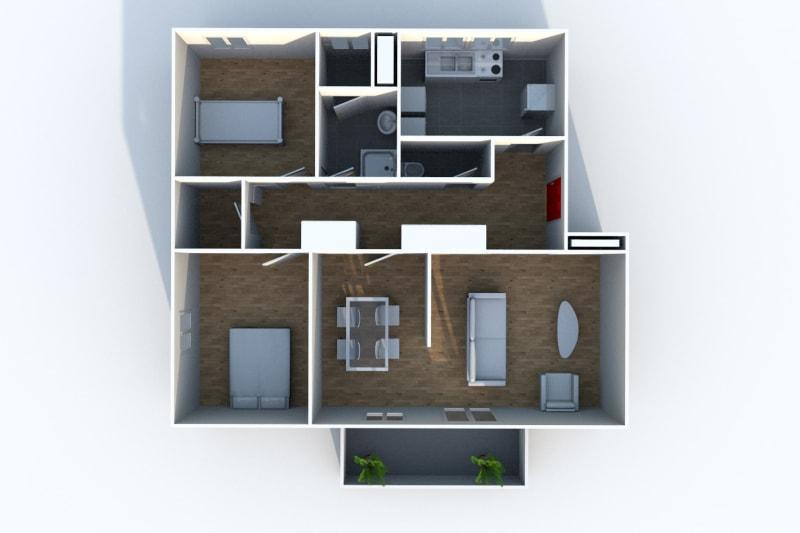 Appartement T4 à louer à Rives en Seine, proche du collège - Image 9