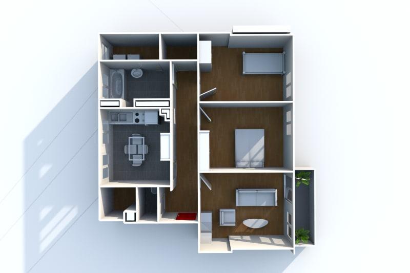 Appartement F3 en location dans une résidence verdoyante au Havre - Image 4