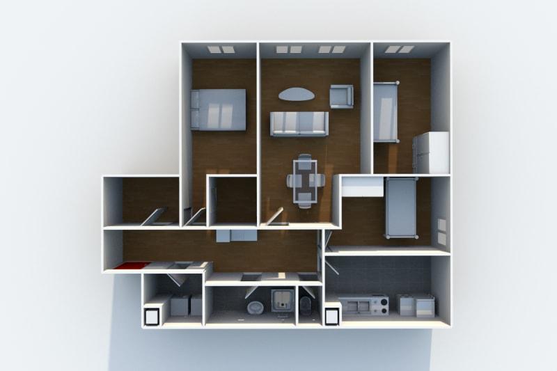 Appartement F4 à louer au Havre proche de la forêt de Montgeon - Image 6