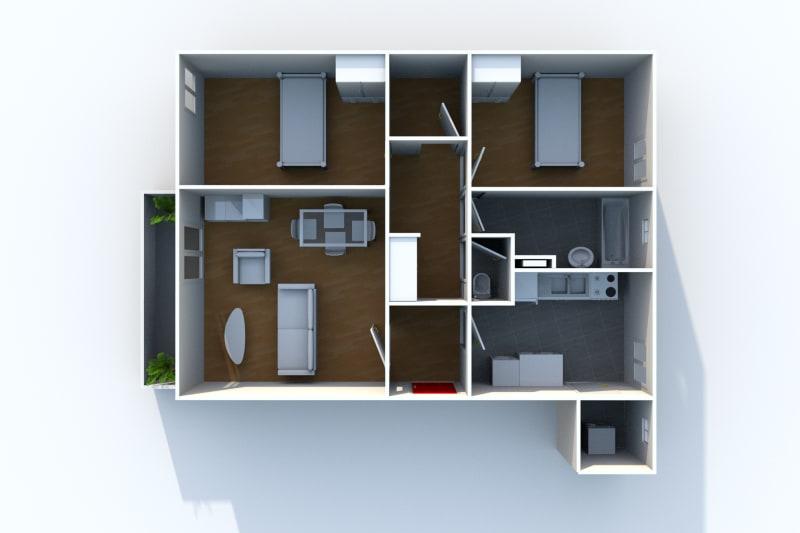 Appartement à louer F3 à Arelaune en Seine - Image 6