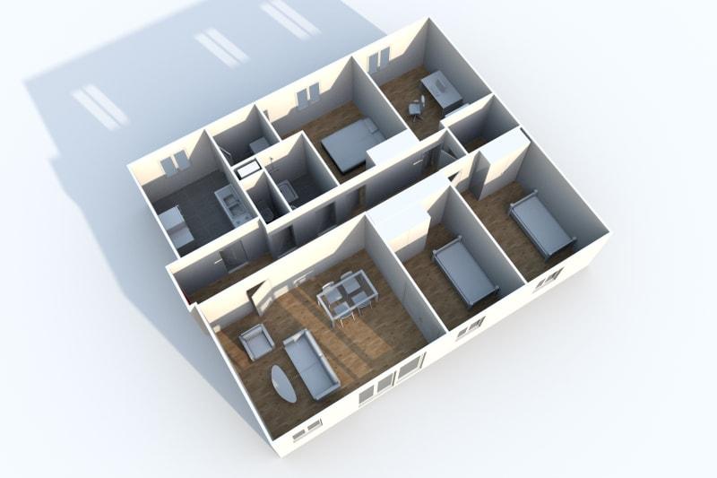 Appartement T5 en location à Motteville - Image 4