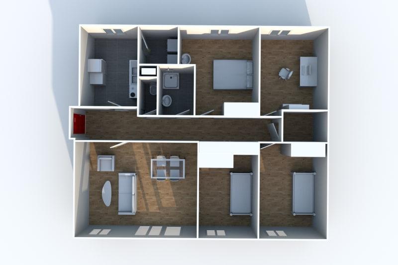 Appartement T5 en location à Motteville - Image 5